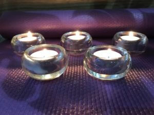 Five candles.