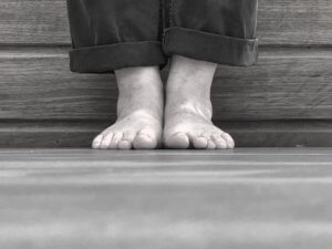 picture of standing feet