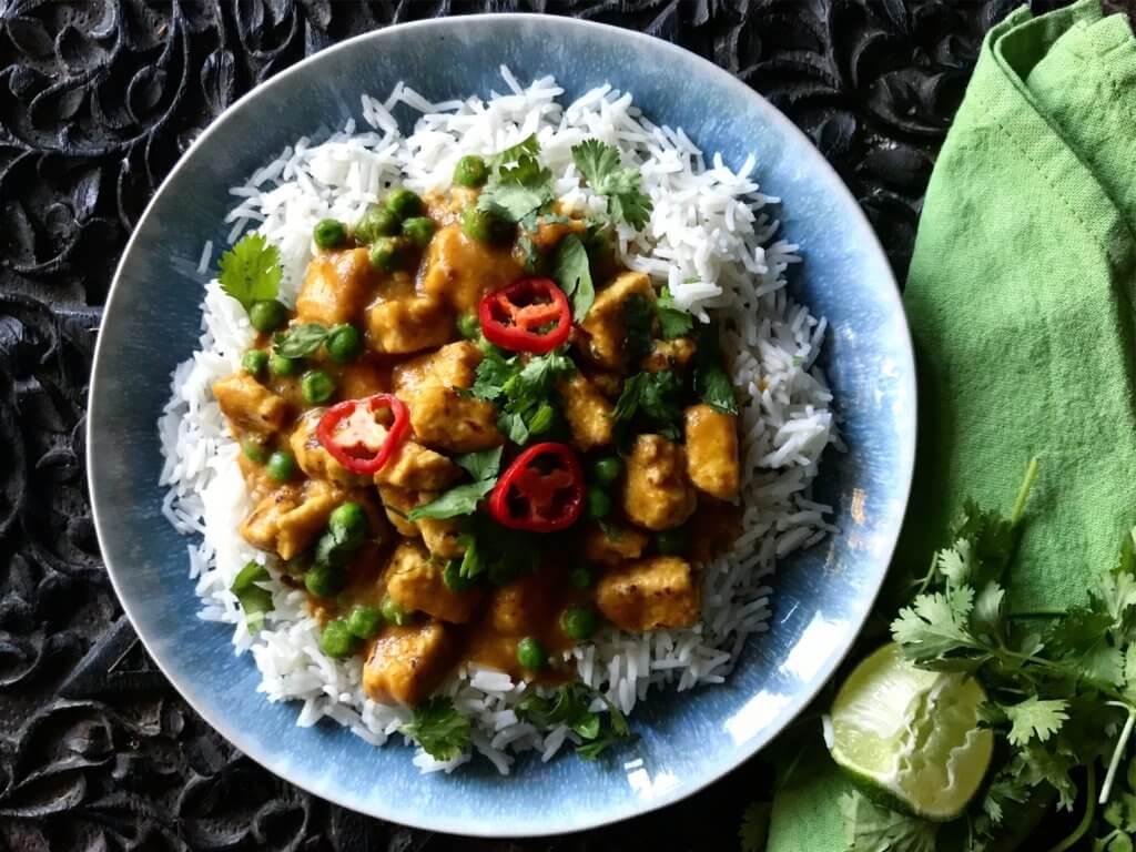 Katsu curry with rice
